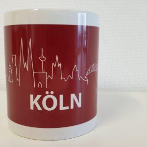 DieKölnTasse, DieKoelnTasse, Köln Tasse, Tasse Köln, Köln Kaffeebecher, Köln Becher, Kaffeetasse Köln, Ansicht1
