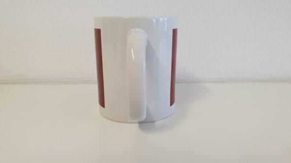 DieKölnTasse, DieKoelnTasse, Köln Tasse, Tasse Köln, Köln Kaffeebecher, Köln Becher, Kaffeetasse Köln Tassenansicht hinten
