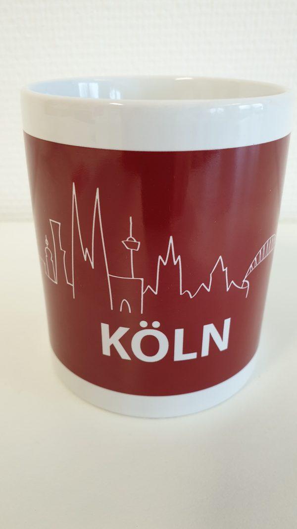 DieKölnTasse, DieKoelnTasse, Köln Tasse, Tasse Köln, Köln Kaffeebecher, Köln Becher, Kaffeetasse Köln