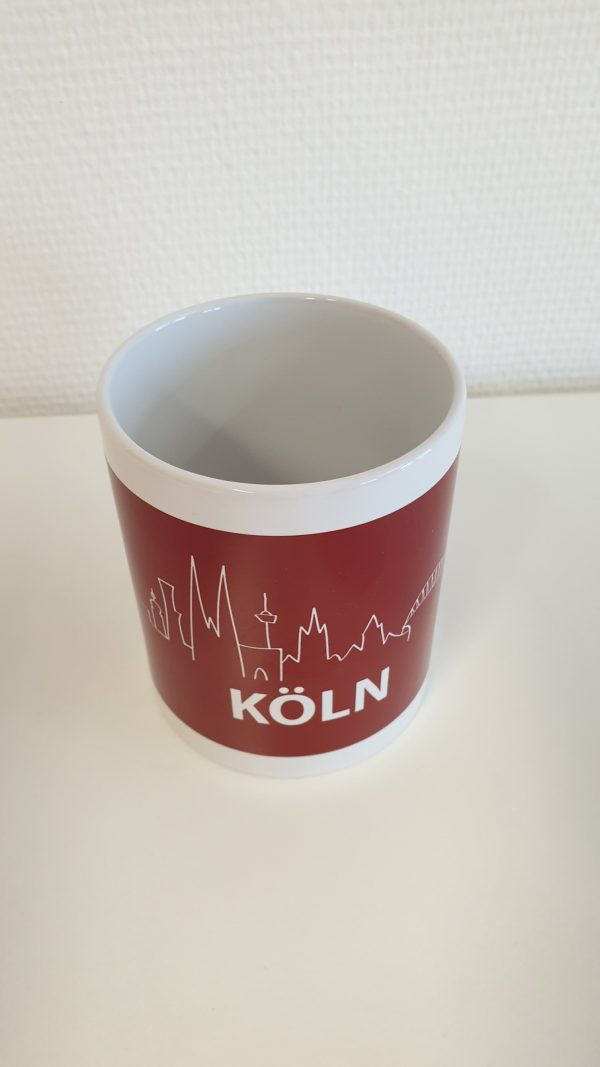 DieKölnTasse, DieKoelnTasse, Köln Tasse, Tasse Köln, Köln Kaffeebecher, Köln Becher, Kaffeetasse Köln, Ansicht6