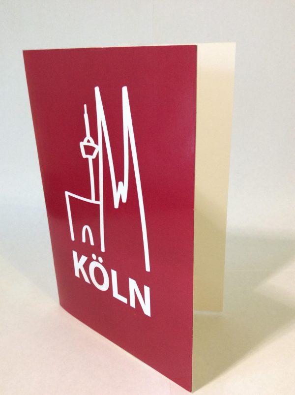 Gomez Rueda - Karten, Grußkarte Karte Köln