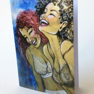 Gomez Rueda - Karten, Grußkarte Happy People 1