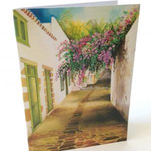 "Gomez Rueda - Karten, Kunstkarte und Grußkarte ""San Franciso"""