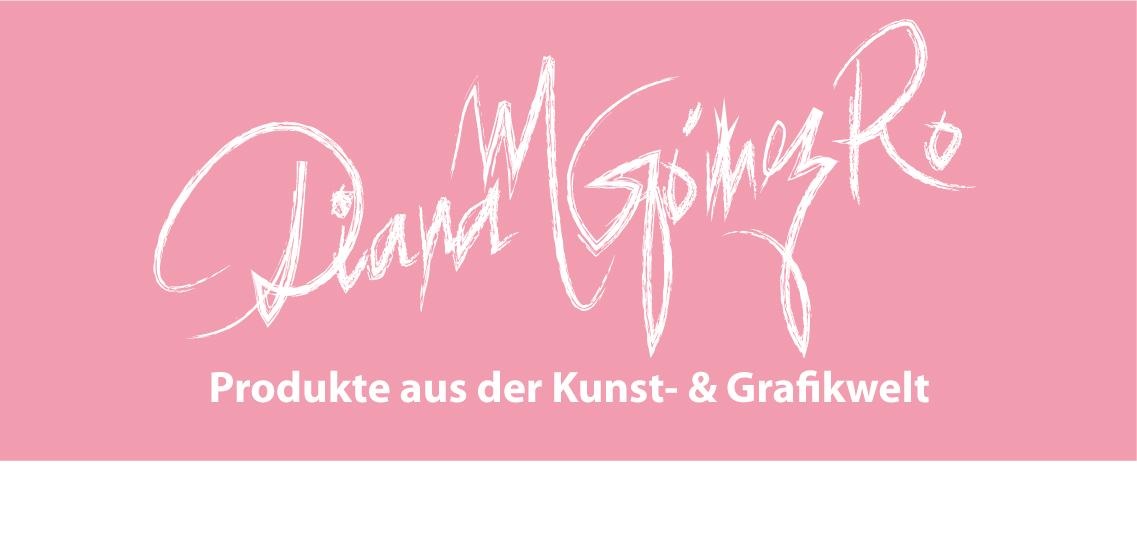 Gomez Rueda: Produkte aus der Kunstwelt und Grafikwelt. Kunstwerke, Kunstkarten, Grußkarten, Drucke, Bilder, Tassen etc.