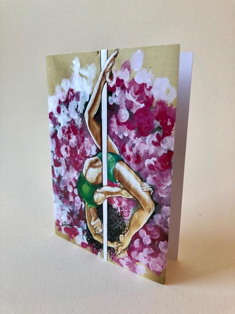 Grußkarte Pole1, Kunstkarte Pole1, Gruß- und Kunstkarten, Gomez Rueda Karten