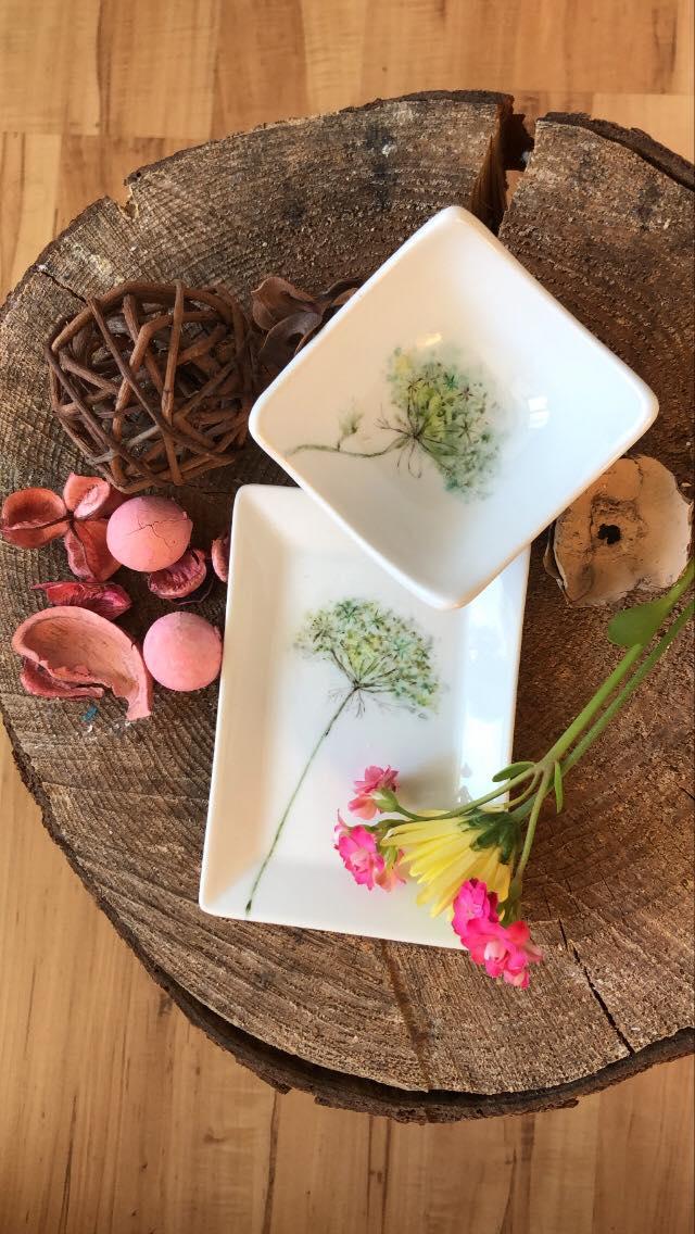 Pottery hand gemalt